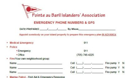 Emergency Phone Numbers & GPS