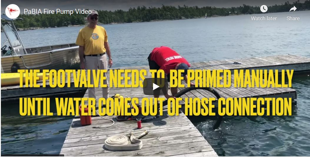 How to use a fire pump video
